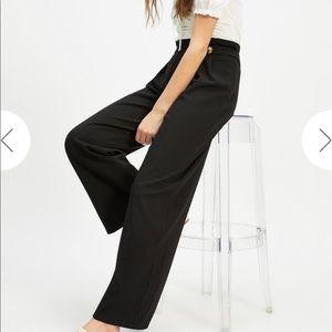 NWT Miss Selfridge Wide Leg Button Trousers